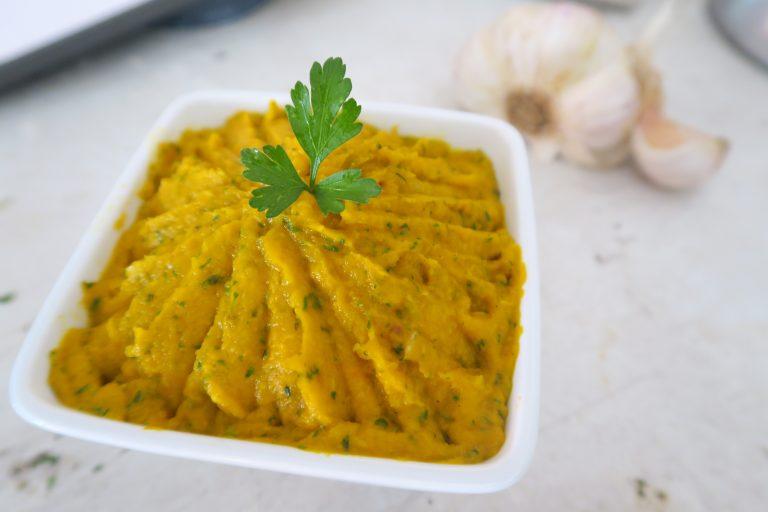 Tartinade carotte-coco-coriandre