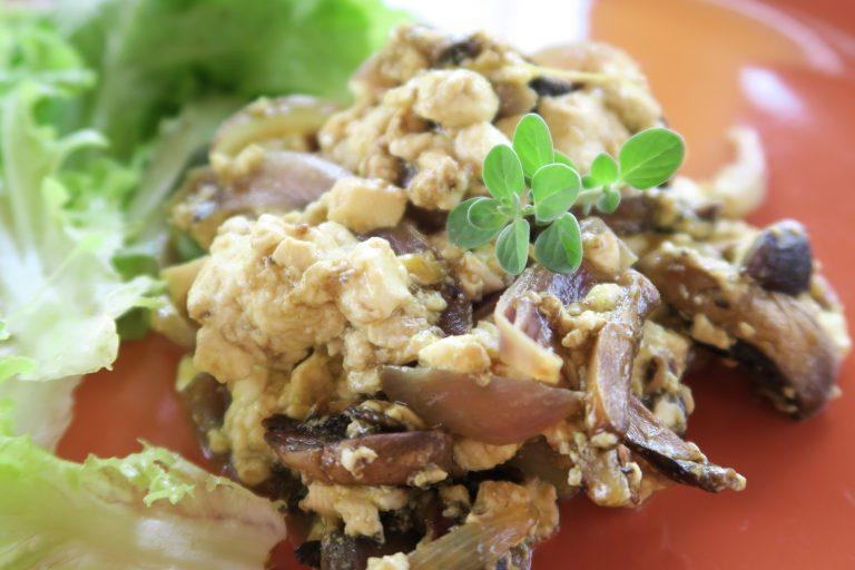 Omelette de tofu soyeux