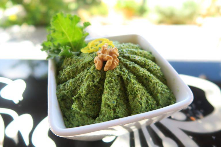 Pesto de chou kale noix & citron