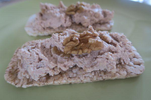 Crème de tofu aux noix