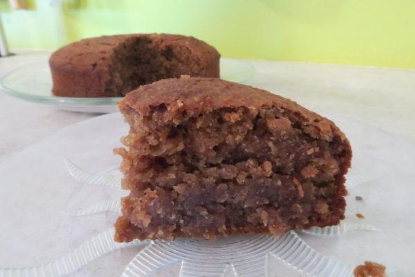 Gâteau moelleux pomme-châtaigne