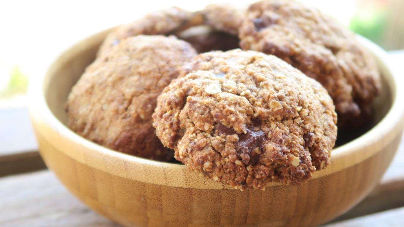 Cookies croustillants aux flocons d'avoine ⋆ Saveurs Bio
